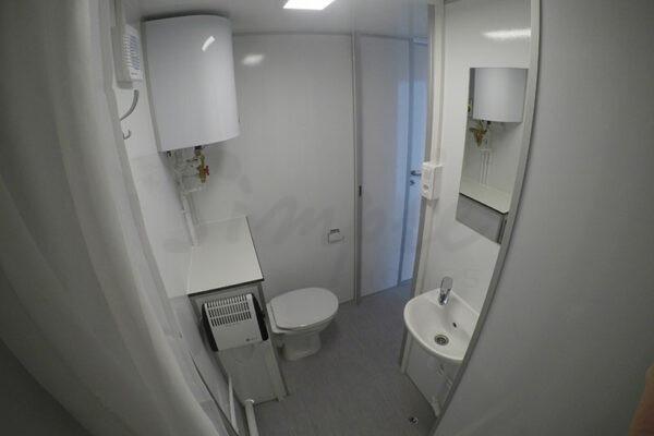Kontorvogn med tekøkken og badeværelse Esbjerg