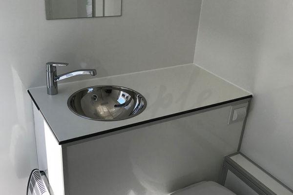 Mobil badeværelse leje