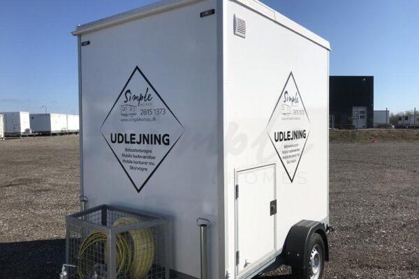 Mobilt badeværelse til leje Esbjerg
