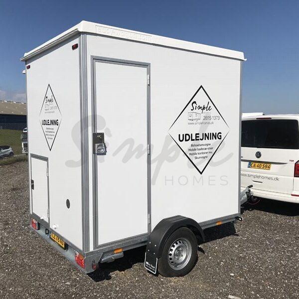 Mobilt badeværelse til leje