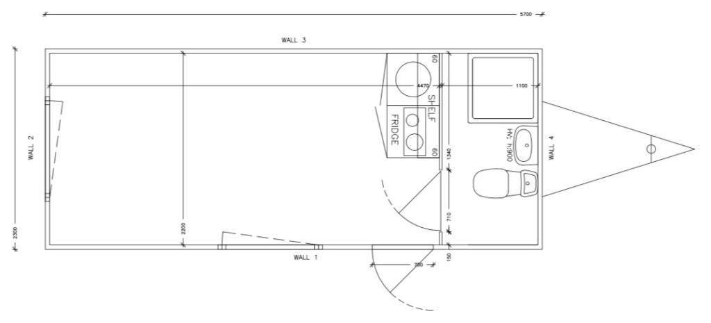 Plantegning multivogn Simple Homes