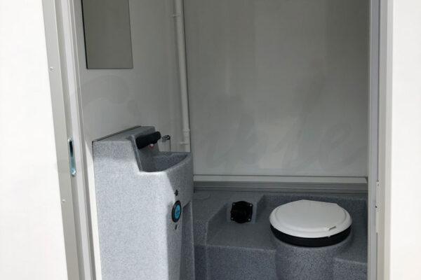 Toiletvogn med kværn