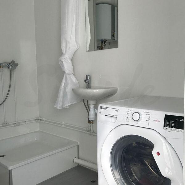 køkkenvogn med badeværelse