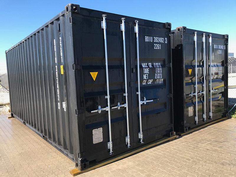Udlejning af isoleret container til opbevaring