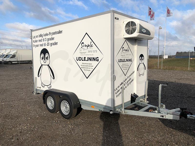 Lej en kølefrys trailer