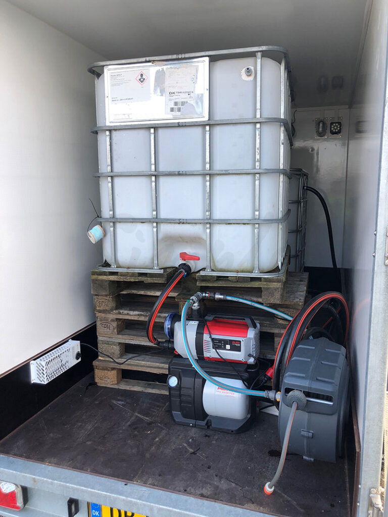 Udlejning af kølefrys trailer