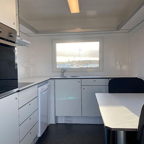 Køkkenvogn med 4 sidepladser